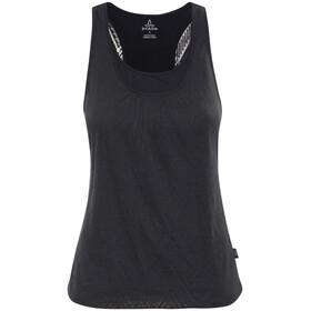 Prana Mika Mouwloos Shirt Dames zwart